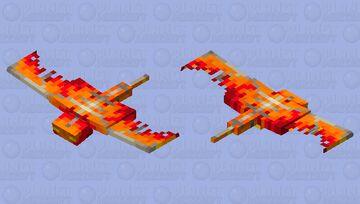 -{Fire phantom}- Minecraft Mob Skin