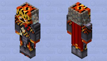Predator Leader Minecraft Mob Skin