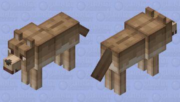 злой волк Minecraft Mob Skin