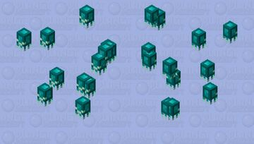 Glow-nautilus/baby/without shell Minecraft Mob Skin
