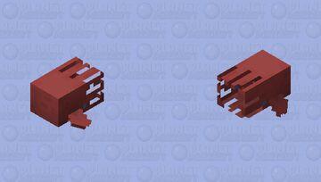 Vampire squid Minecraft Mob Skin