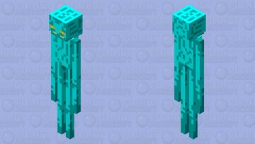 the legend of the enderman Minecraft Mob Skin