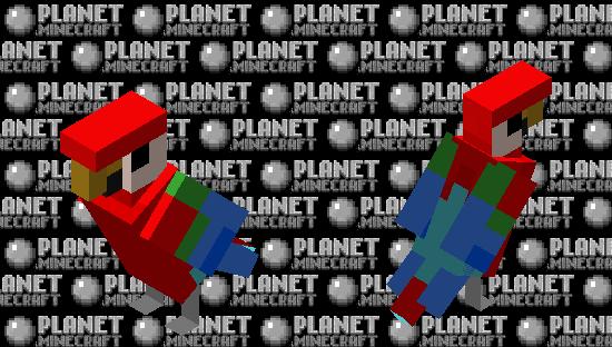 better red parrot Minecraft Skin