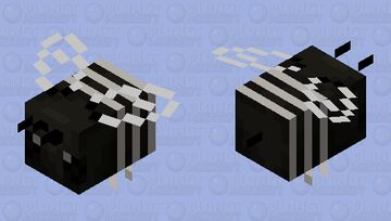 rophites quinquespinosus bee Minecraft Mob Skin