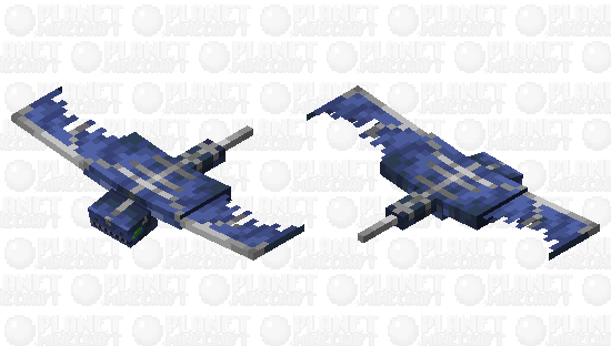 Realistic phantom Minecraft Skin
