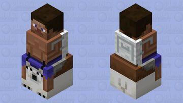 Polar Bear Jockey Minecraft Mob Skin