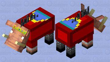 Technoblade Hoglin Minecraft Mob Skin