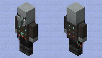 Vindicator re-texturing  / level 1 / v1 / copper Minecraft Mob Skin