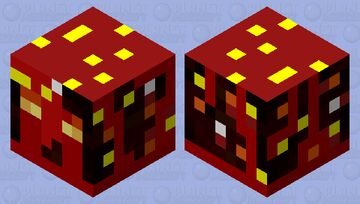 Blood Magma Cube ( From The Boiling Blood Union) Minecraft Mob Skin