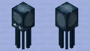 Funny Better Squid Minecraft Mob Skin