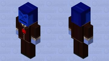 Cold Caller - Toontown Minecraft Mob Skin