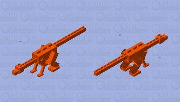 Lava Dinosaur Minecraft Mob Skin