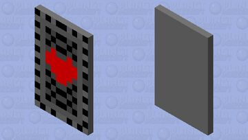 undertale cape Minecraft Mob Skin