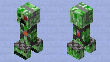 Alone_1244's mob shop: the robot creeper Minecraft Mob Skin