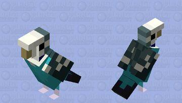 Budgerigar (Blue Pattern) Minecraft Mob Skin