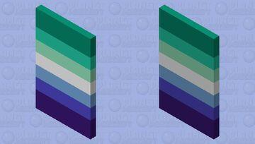 Gay man pride Minecraft Mob Skin