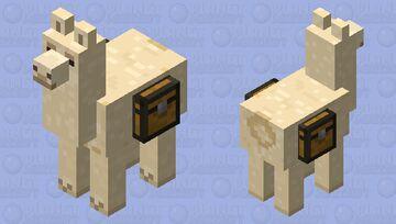 its a lama Minecraft Mob Skin