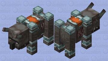 Jap ravager Minecraft Mob Skin