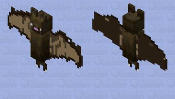 More realistic bat Minecraft Mob Skin
