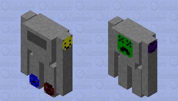 battle bot v2.0 Minecraft Mob Skin