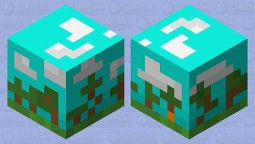 Art cube- forest Minecraft Mob Skin