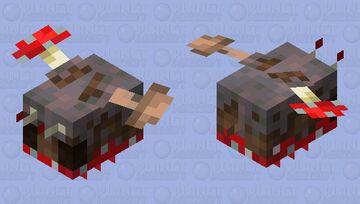 Mycelibee Minecraft Mob Skin