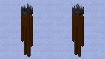 Wildfire Giant (Root Head) Minecraft Mob Skin