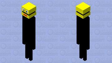Splaat The Enderman Robot Logo Minecraft Mob Skin