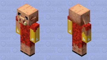 Gold Infection Piglen Minecraft Mob Skin