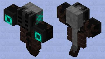 Withex Colossus (Wither) Minecraft Mob Skin