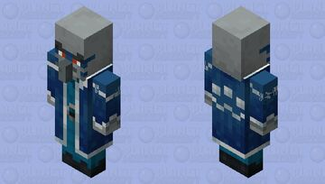 The Iceologer/Chillager (Retexture) (ver.2) Minecraft Mob Skin