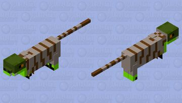Velociraptor with feathers AKA slmal dino that hunts in packs Minecraft Mob Skin