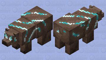 Souler Bear Minecraft Mob Skin