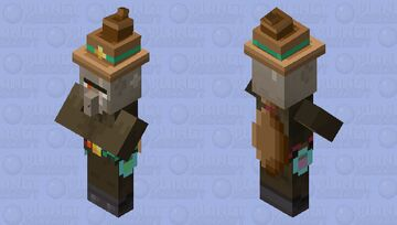 The Nether Witch Minecraft Mob Skin
