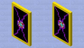 ruby an diamond powered cape (pixel gun idea) Minecraft Mob Skin