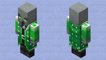 Emerald Guardian(Re Texturing) Minecraft Mob Skin