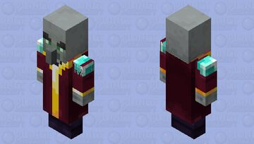 Enchanter(My Version) Minecraft Mob Skin