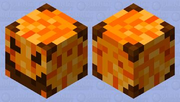Halloween Magma Cube Skin Minecraft Mob Skin