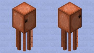 Improved Squid Model Minecraft Mob Skin