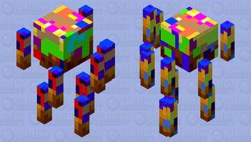 Abstract blaze Minecraft Mob Skin