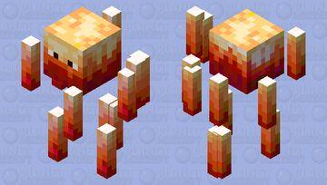 Ember Blaze Minecraft Mob Skin