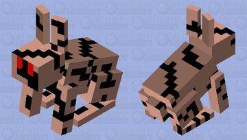 Mummy Bunny Minecraft Mob Skin