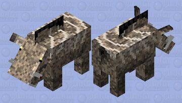 Entelodon skin Minecraft Mob Skin