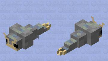 Realistic-ish Silverfish! Minecraft Mob Skin