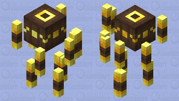Blaze (Headcanon) Minecraft Mob Skin