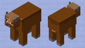 Cow to Buffalo I guess Minecraft Mob Skin