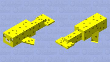 Gold seal for my 40 subscribers Minecraft Mob Skin