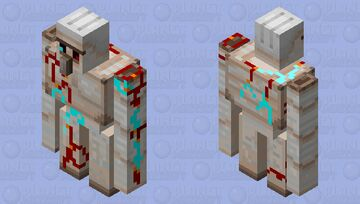 strange golem Minecraft Mob Skin