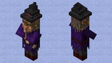 Realistic witch Minecraft Mob Skin