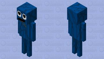 Mr mascot (Trevor Henderson) Minecraft Mob Skin